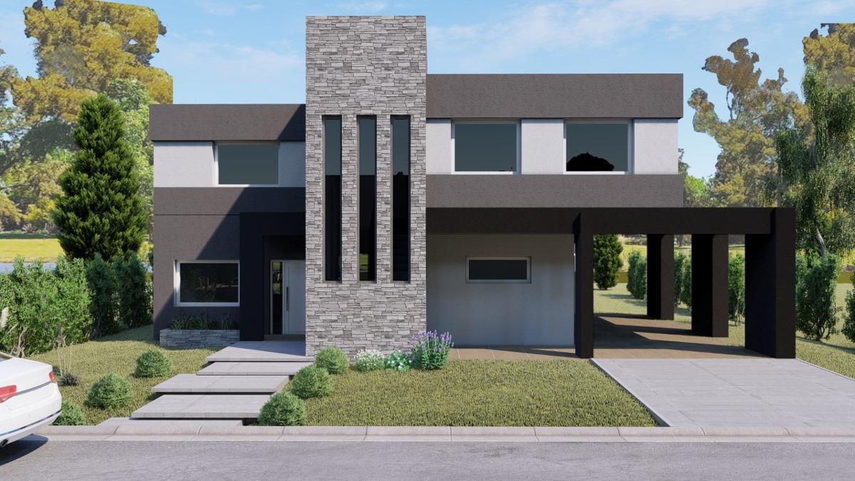 casa en venta 220 m2  los troncos financiada fondo a  laguna