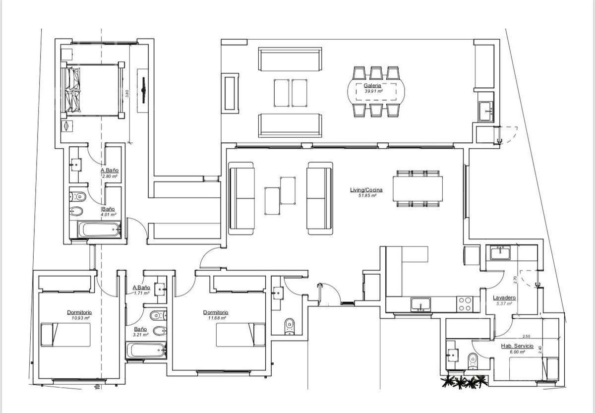 casa en venta, 3 dormitorios, dependencia, a3 - san matias, escobar