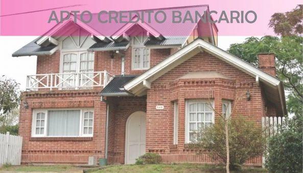 casa en venta 4 ambientes apta para crédito hipotecario