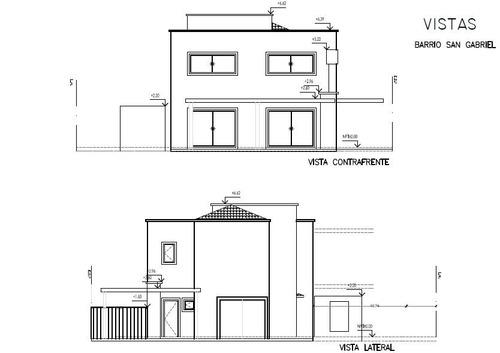casa en venta 5 amb. en barrio san gabriel villanueva - usd 365.000.-