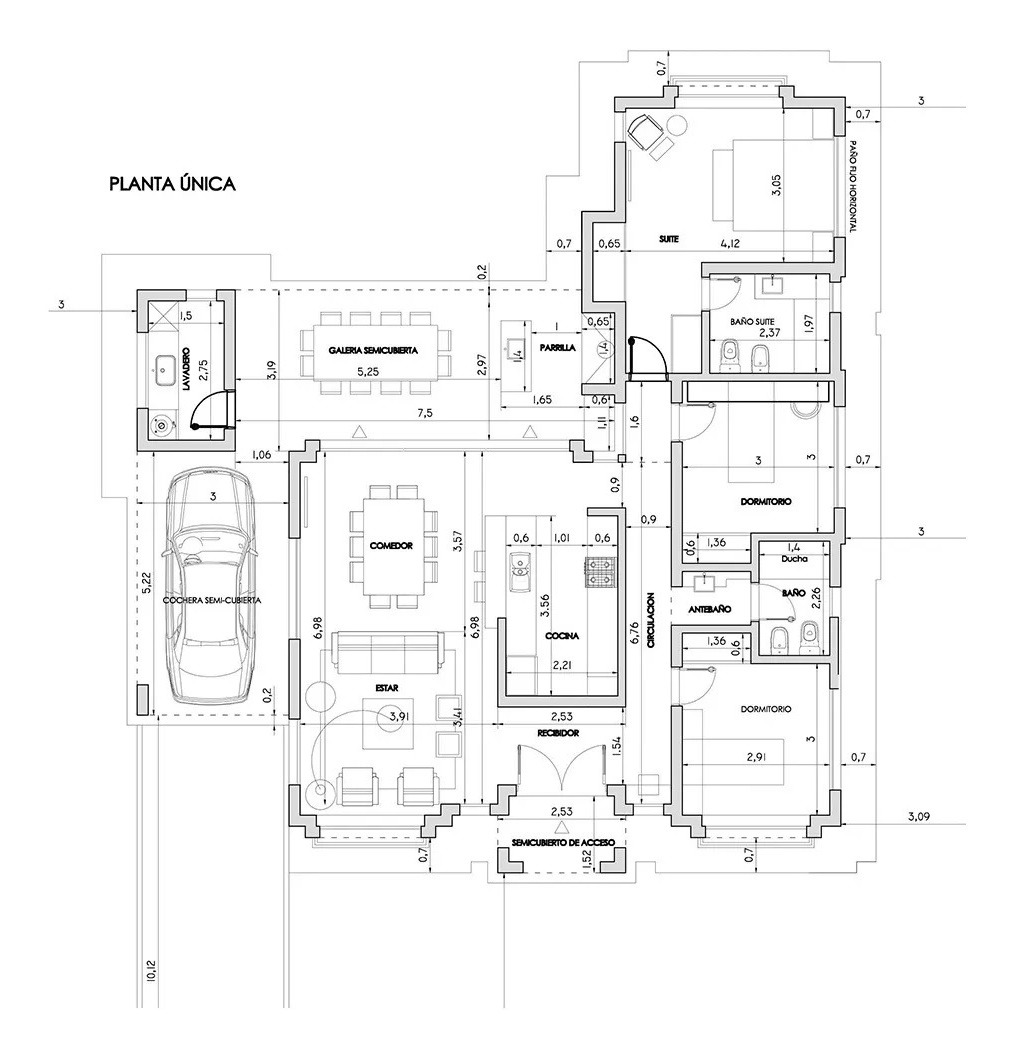 casa en venta a construir en don joaquín