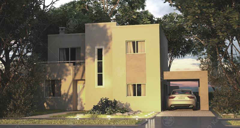 casa en venta a estrenar con vista a laguna