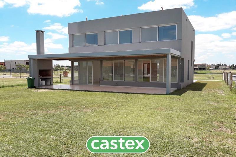 casa en venta a estrenar en castaños, nordelta