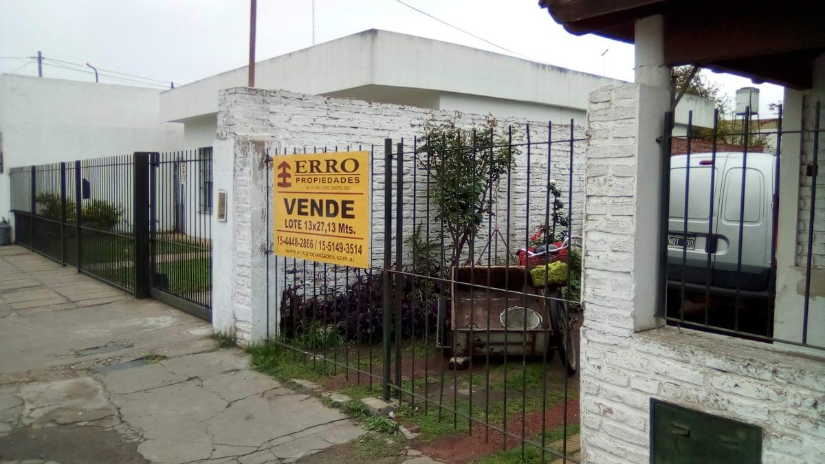 casa en venta a reciclar o demoler en pilar centro