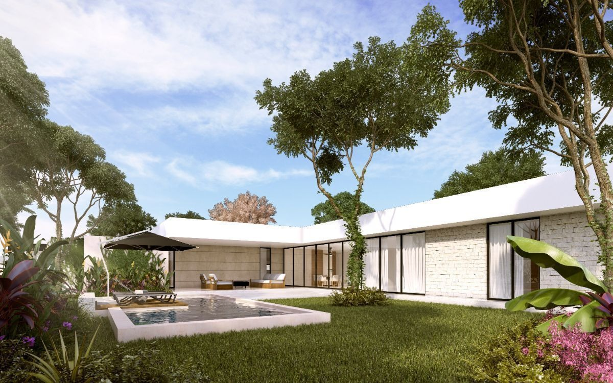 casa en venta arteva, dzityá modelo c3