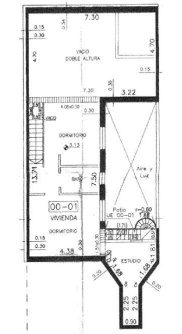 casa en venta - centro- 3 dorm con patio y terraza