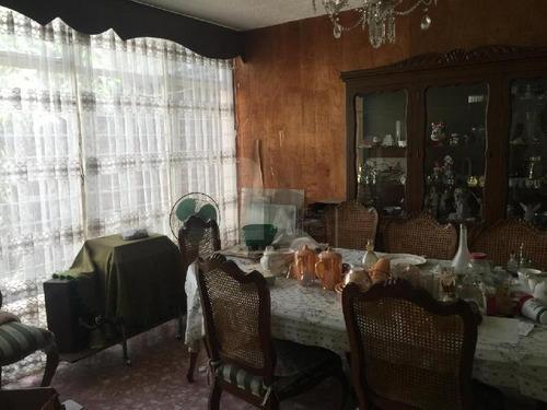 casa en venta, centro de coyoacan, propiedad para remodelar, 321mts de terreno