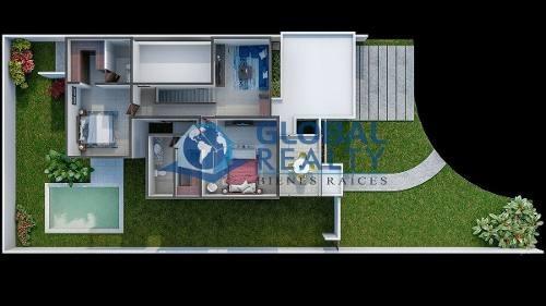 casa en venta, cholul, cerca de universidad modelo. cv-5149
