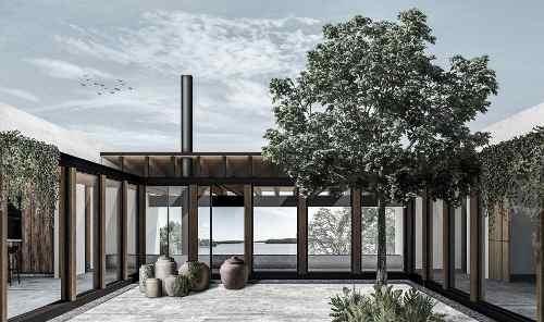 casa en venta con acceso al lago