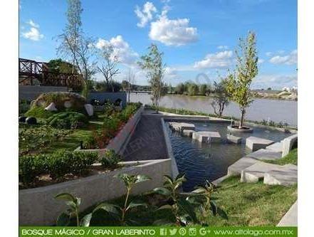 casa en venta con habitación en pb en privada alto lago $4.013,700.00 seguridad, casa club, dog park
