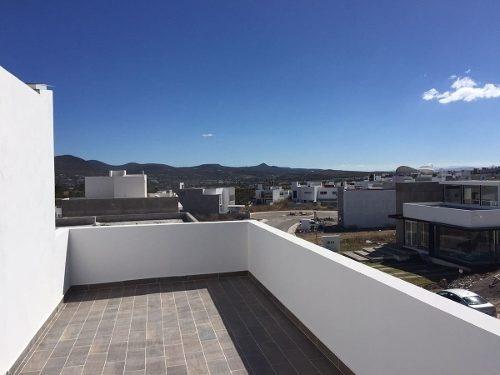 casa en venta con roof garden juriquilla preserve queretaro
