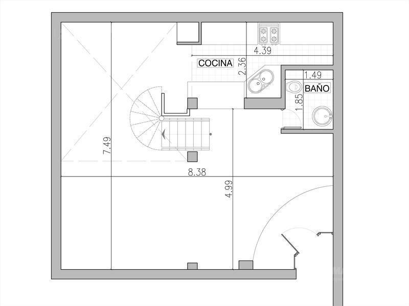 casa en venta con terraza en belgrano chico ¡oportunidad!