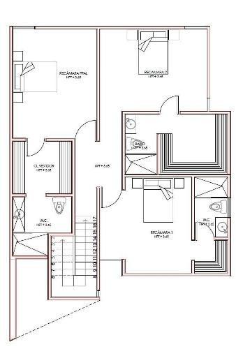 casa en venta cumaru, parque central cholul (modelo d completo)