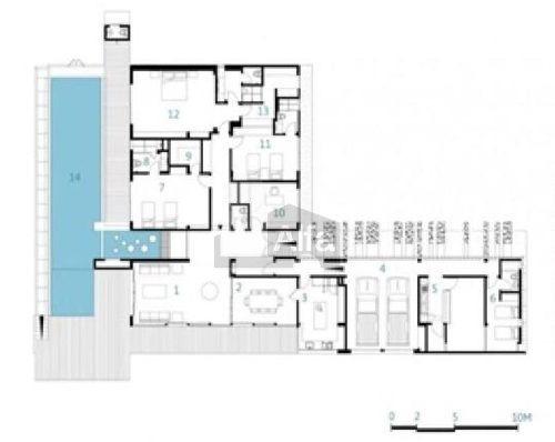 casa en venta cumbres elite 8 sector con doble terreno y alberca