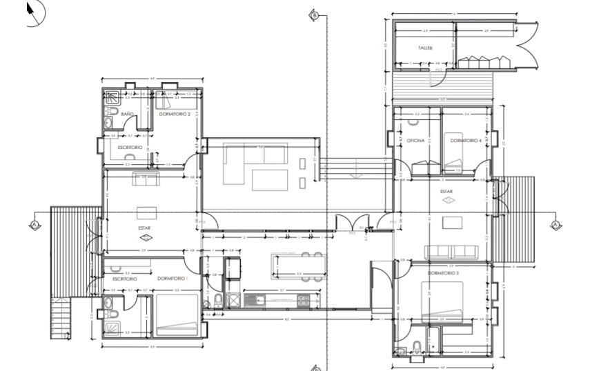 casa en venta de 4 dormitorios en quintero