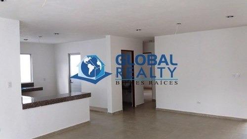 casa en venta de una planta en cholul. cv-4833
