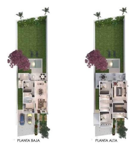 casa en venta de una planta en privada amaranto cv-6298