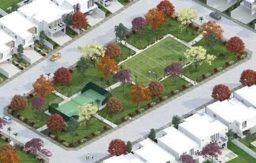 casa en venta de una planta en privada amaranto cv-6305