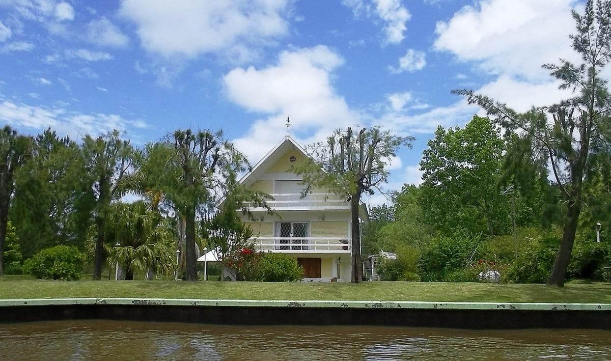 casa en venta delta tigre- arroyo caraguata- el paraiso