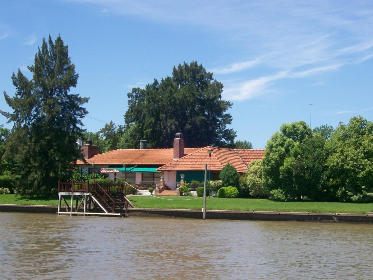 casa en venta delta tigre- canal del este- maria del este