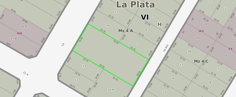 casa en venta en 473/21 y 21a city bell - alberto dacal propiedades