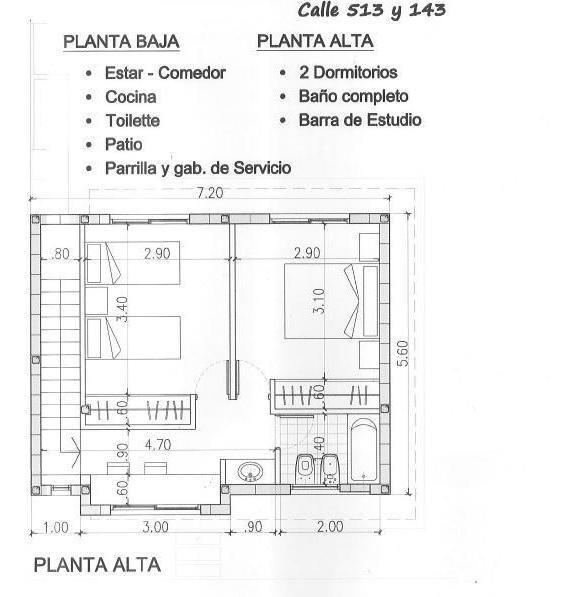 casa en venta en 513/141 y 143 josé hernández - alberto dacal propiedades