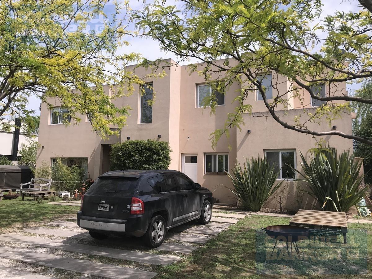 casa en venta en barrio cerrado el encuentro lote interno - corredor bancalari