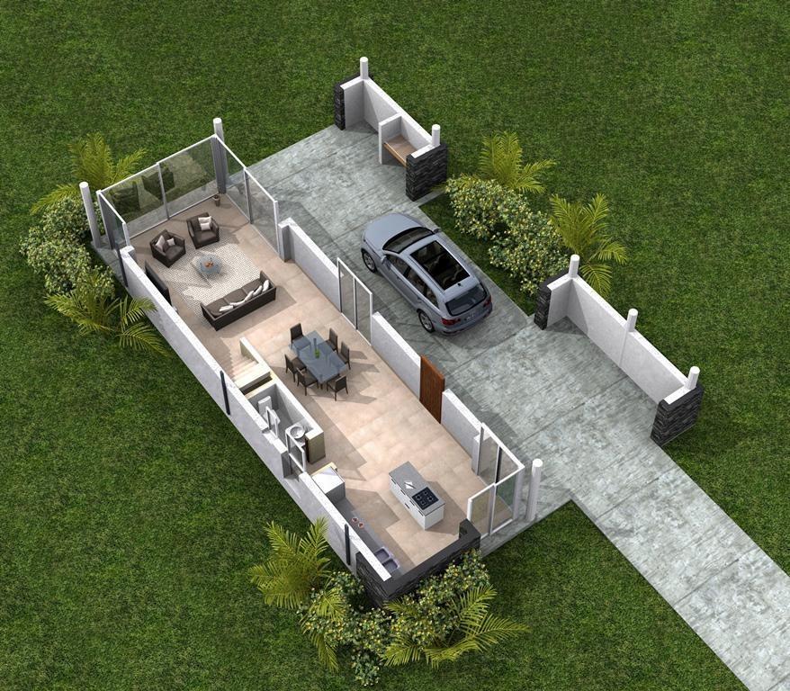 casa en venta en barrio cerrado zona oeste 3 dormitorios