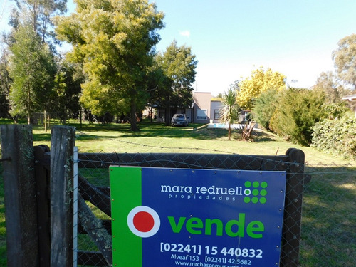 casa en venta en barrio parque girado, chascomus