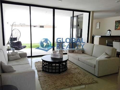 casa en venta en cholul, privada cerca de uptown. cv-4973