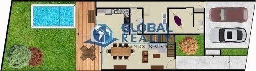 casa en venta en cholul, zona de alta plusvalía cv-4756