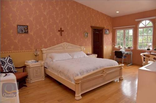 casa en venta en colinas del bosque, 4 recamaras, club de golf méxico
