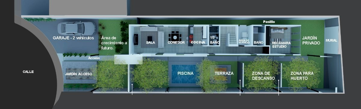 casa en venta en conkal 68 de diseño único