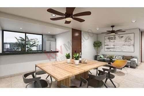 casa en venta en conkal a 10 km de plaza altabrisa al norte de la ciudad, y a sólo 25 minutos de la costa yucateca.