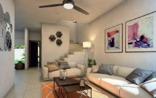 casa en venta en conkal, zona de alto crecimiento. cv-5833