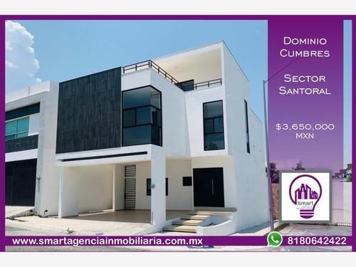 casa en venta en dominio cumbres santoral ii