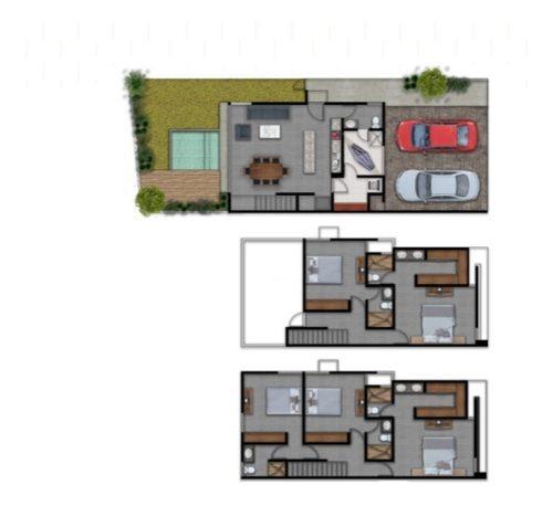 casa en venta en dzitya a minutos de plaza galerías. cv-5818