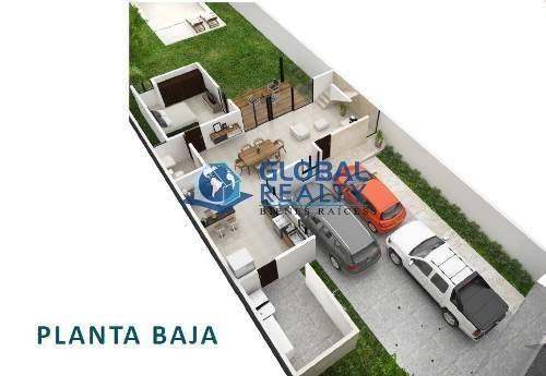 casa en venta en dzitya zona de alta plusvalía. cv-5058