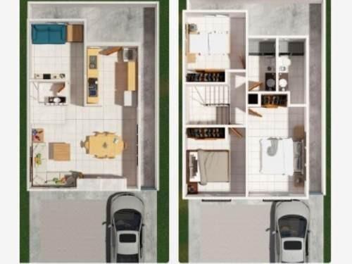 casa en venta en el castaño