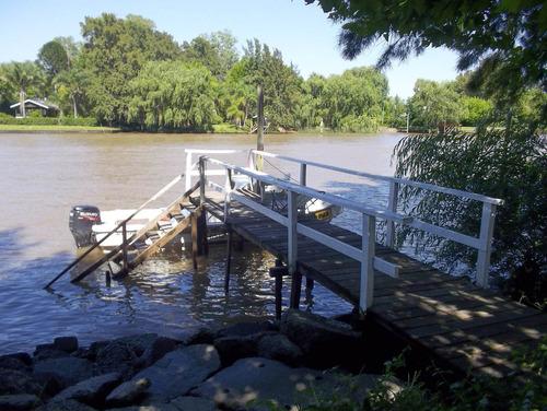 casa en venta en el delta río capitán