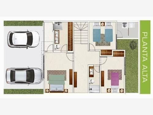 casa en venta en fraccionamiento belona modelo alcatraz