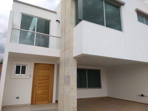 casa en venta en fraccionamiento zona recta a cholula, cerca udlap, san andres cholula, puebla