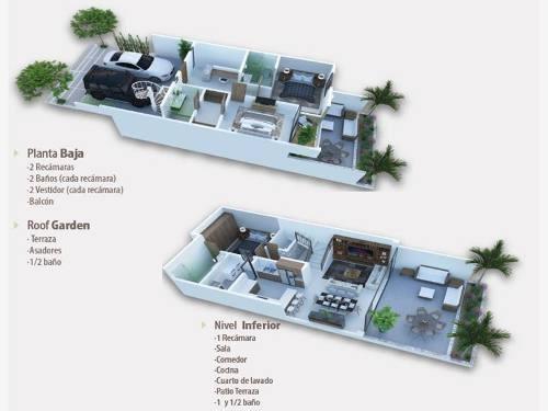 casa en venta en la pedrera residencial en real del valle mazatlan granito