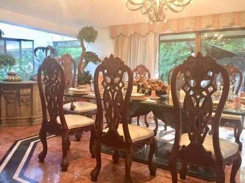 casa en venta en lomas de las palmas de 2 niveles y jardín, lomas de las palmas,