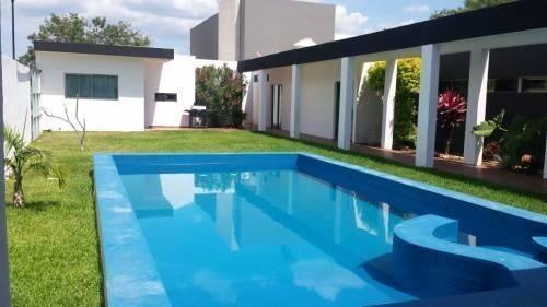casa en venta en mérida 4 recámaras $4,450.000 en col. hacienda cholul f21152