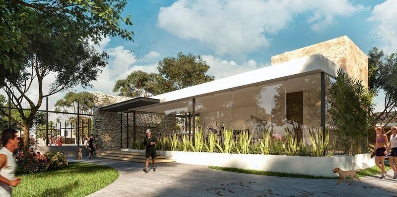 casa en venta en merida, privada amidanah. ¡una planta con piscina!