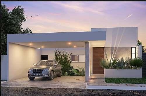 casa en venta en merida, privada residencial es de un piso