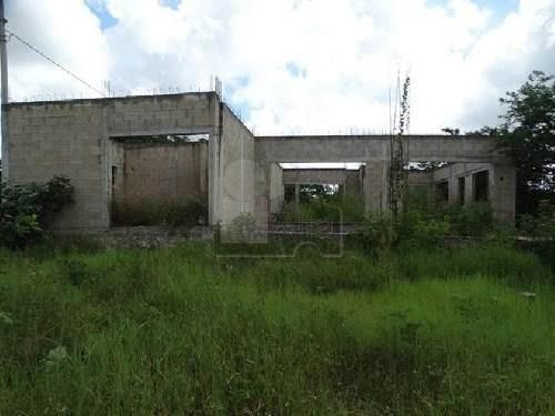 casa en venta en merida sitpach para terminar, en esquina con 2000 metros de terreno