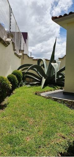 casa en venta en metepec  fraccionamiento residencial el virrey