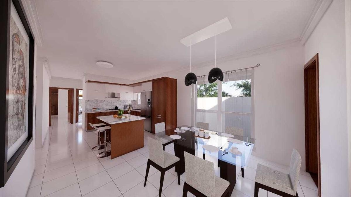 casa en venta en planos en gurabo, santiago wpc07